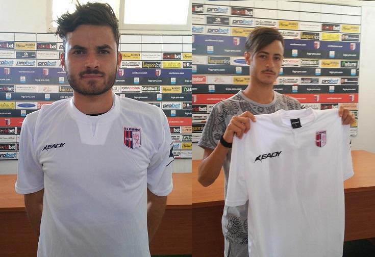 De Carolis e Imbriani sono ufficialmente due calciatori della Vibonese immagine 4062 US Vibonese Calcio