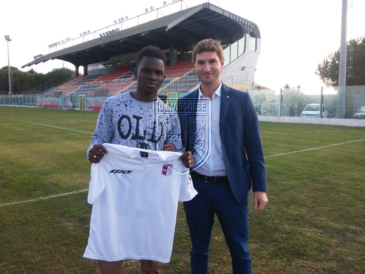 La Vibonese annuncia l'ingaggio di Ibrahima Ba immagine 5702 US Vibonese Calcio