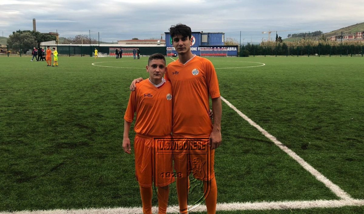 Raso e La Gamba in occasione dello stage con la Nazionale Dilettanti Under 18 immagine 7206 US Vibonese Calcio