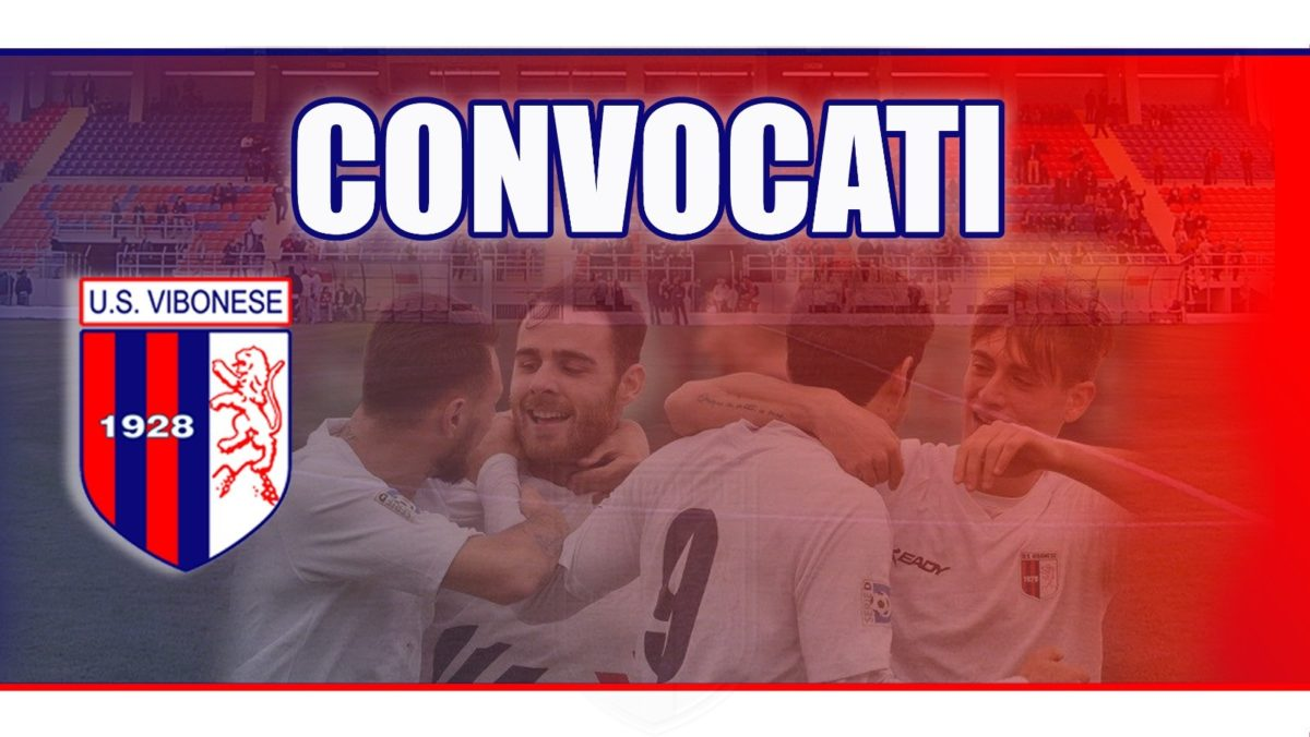 Vibonese - Igea Virtus: Convocati immagine 7507 US Vibonese Calcio