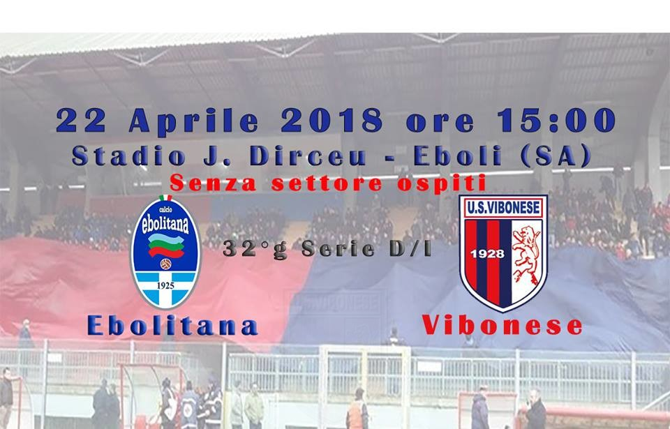 Ebolitana - Vibonese 1-3 immagine 7791 US Vibonese Calcio