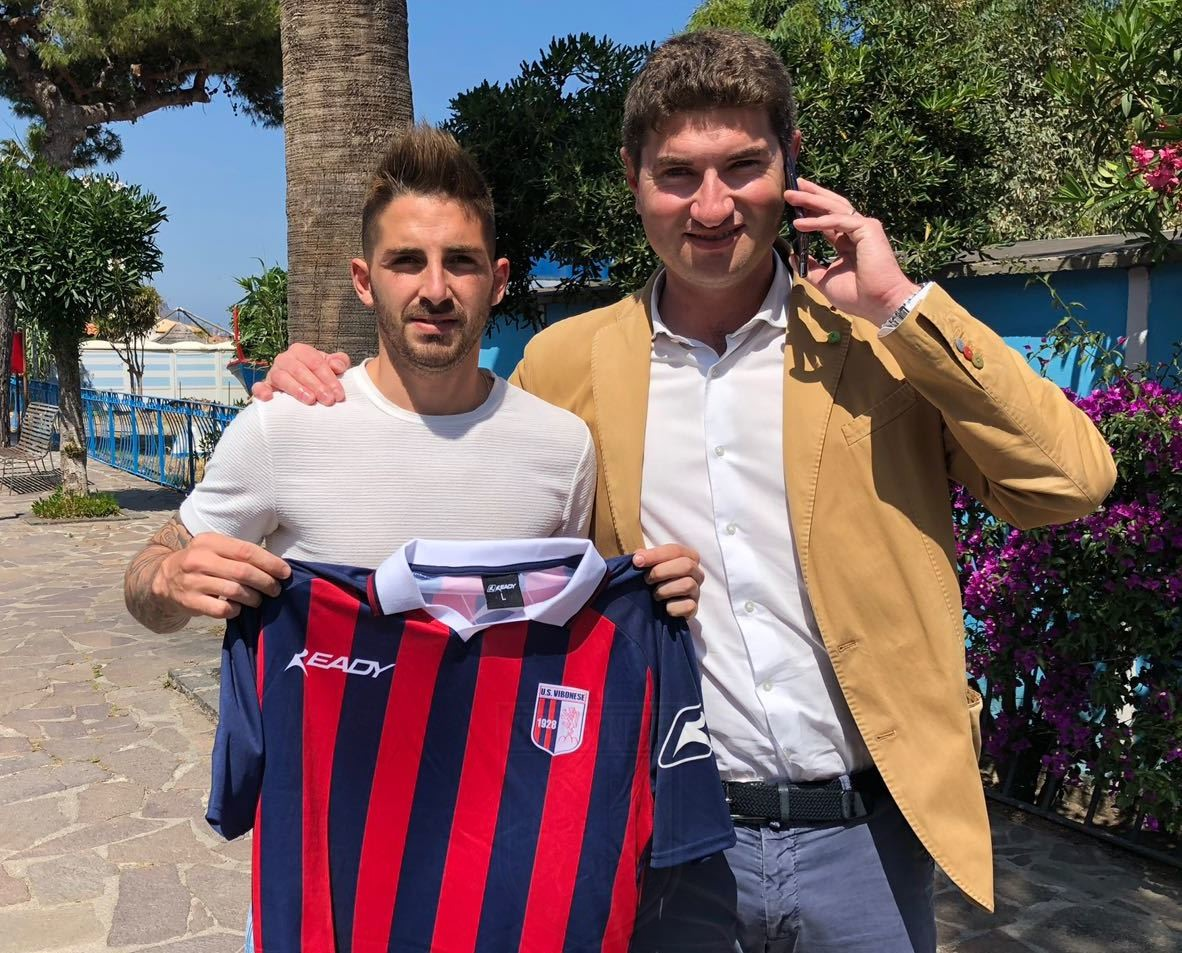 La Vibonese trova l'accordo con Ezequiel Melillo immagine 8093 US Vibonese Calcio