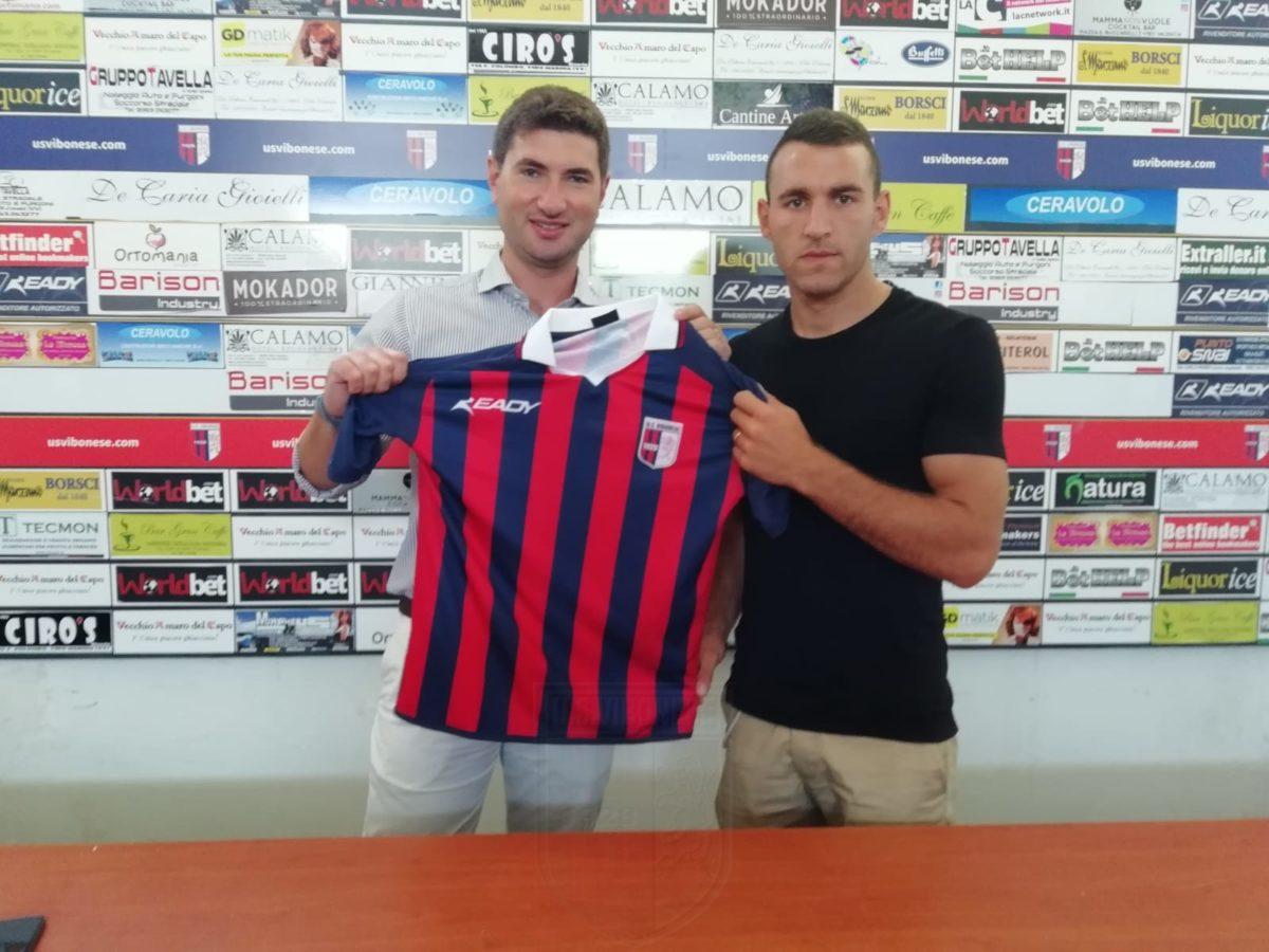Gabriele Franchino è tornato in città immagine 8354 US Vibonese Calcio