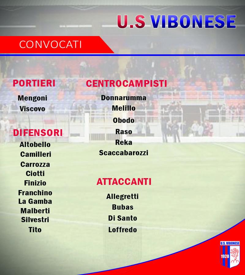 Convocati ritiro per Lorica immagine 8375 US Vibonese Calcio