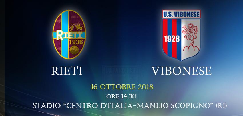 Rieti - Vibonese 0-1 immagine 10134 US Vibonese Calcio