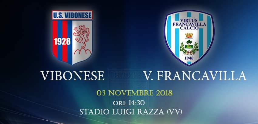 Vibonese - V. Francavilla 5-0 immagine 10330 US Vibonese Calcio