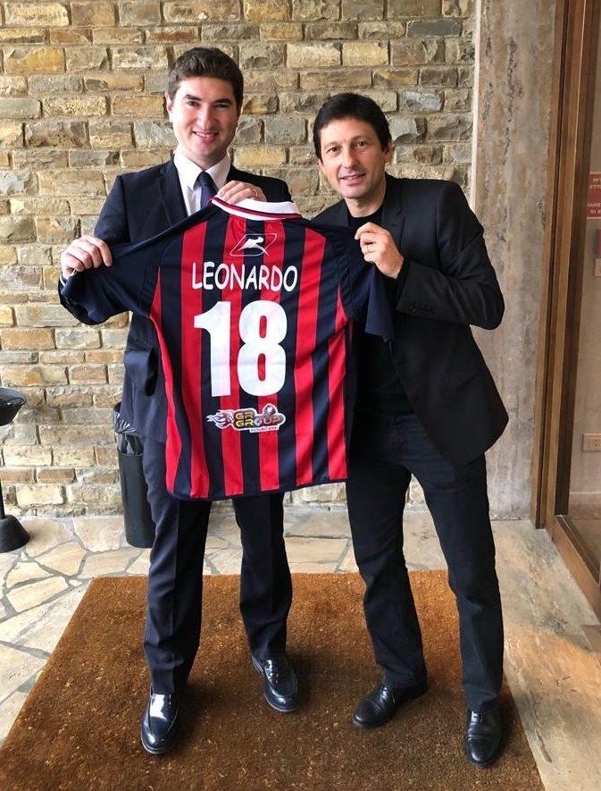 Clamoroso a Vibo! Leonardo in rossoblu immagine 10532 US Vibonese Calcio