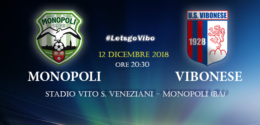 Monopoli - Vibonese 1-0 immagine 10601 US Vibonese Calcio