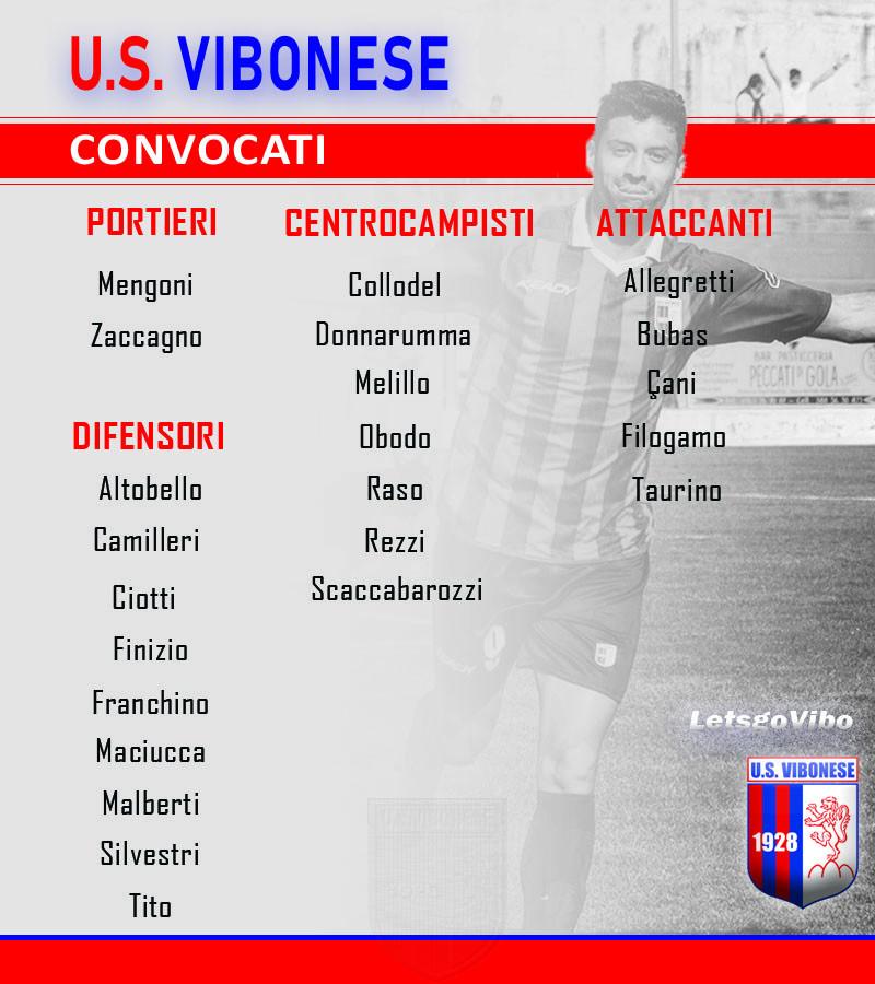 Juve Stabia - Vibonese: Convocati immagine 11948 US Vibonese Calcio