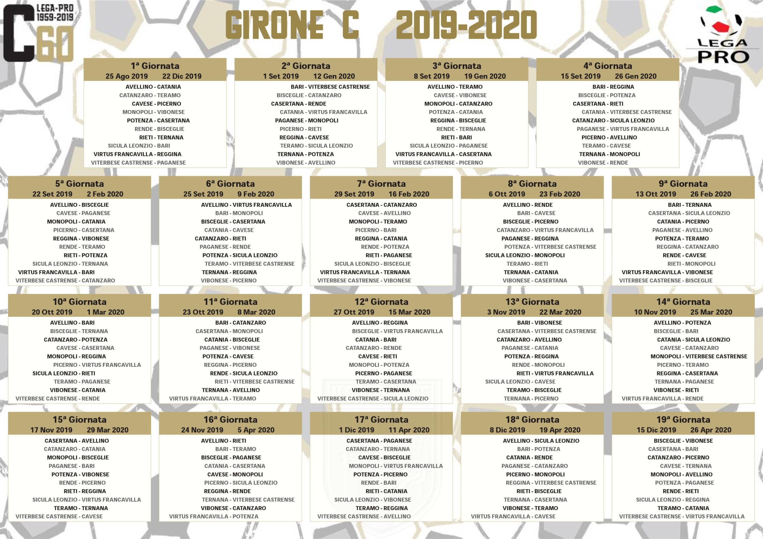CLESSIDRA CAPOVOLTA | Calendario 2019/2020 immagine 12292 US Vibonese Calcio