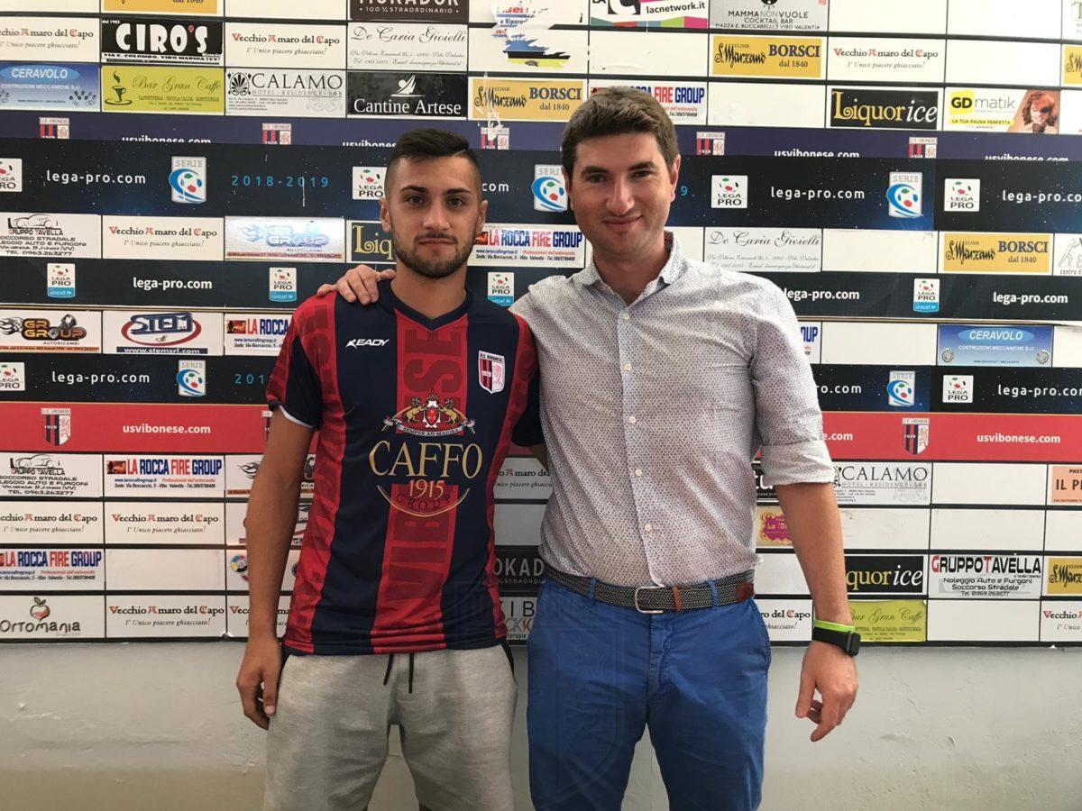 CALCIOMERCATO UFFICIALE | Giorgio Tumbarello è un giocatore della Vibonese immagine 12193 US Vibonese Calcio
