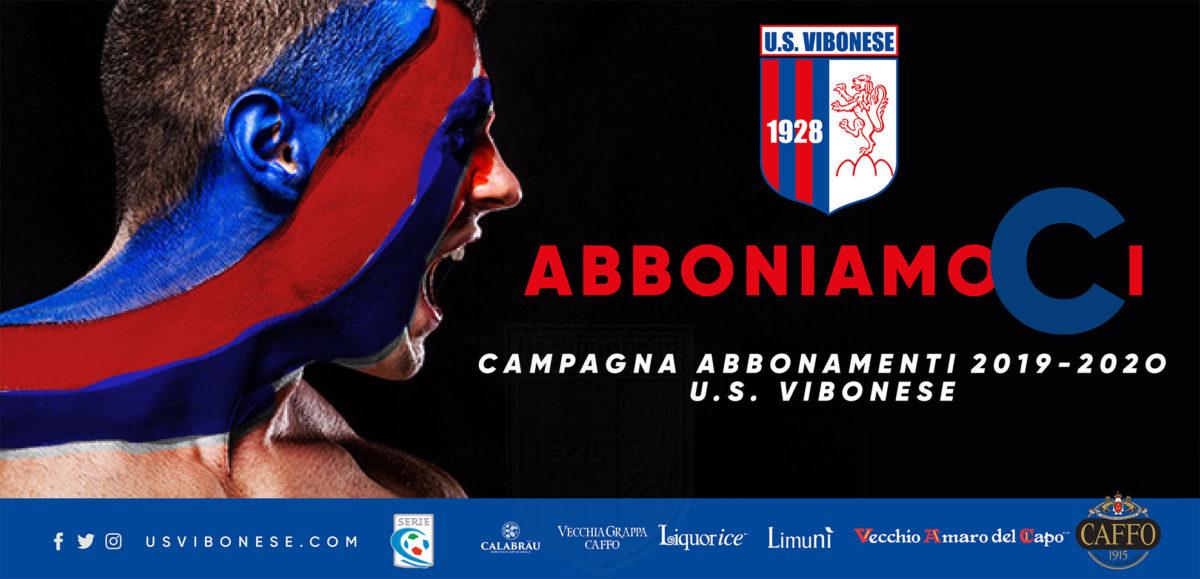 ABBONIAMOCI | Campagna abbonamenti 2019/2020: la Vibonese conferma i prezzi dello scorso anno immagine 12755 US Vibonese Calcio
