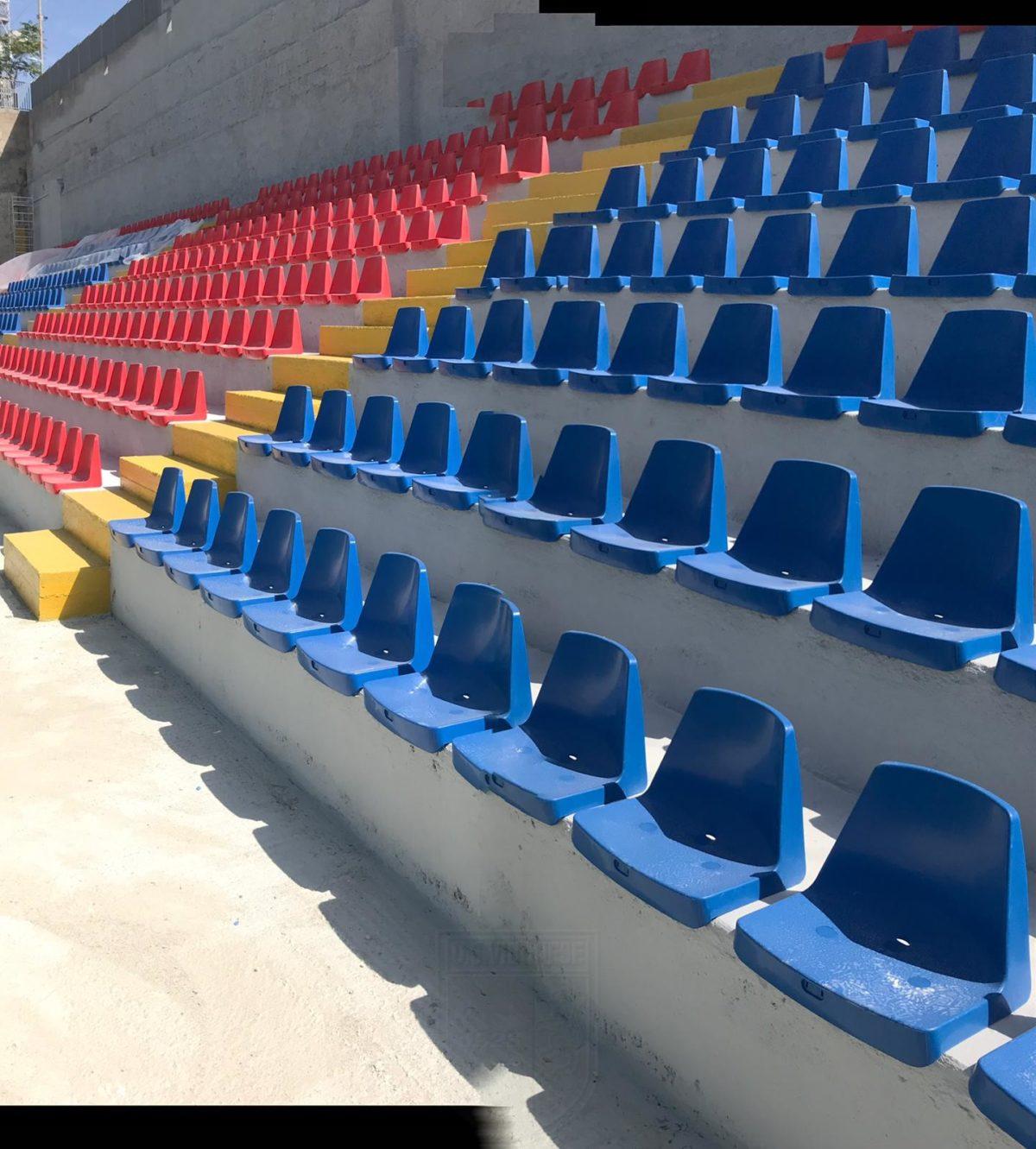 VIA LIBERA AL SETTORE OSPITI   La nuova gradinata è pronta ad ospitare i tifosi dell Avellino Calcio immagine 12893 US Vibonese Calcio