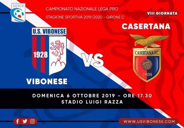 VIBONESE - CASERTANA 3-1 | Tabellino e statistiche immagine 13219 US Vibonese Calcio