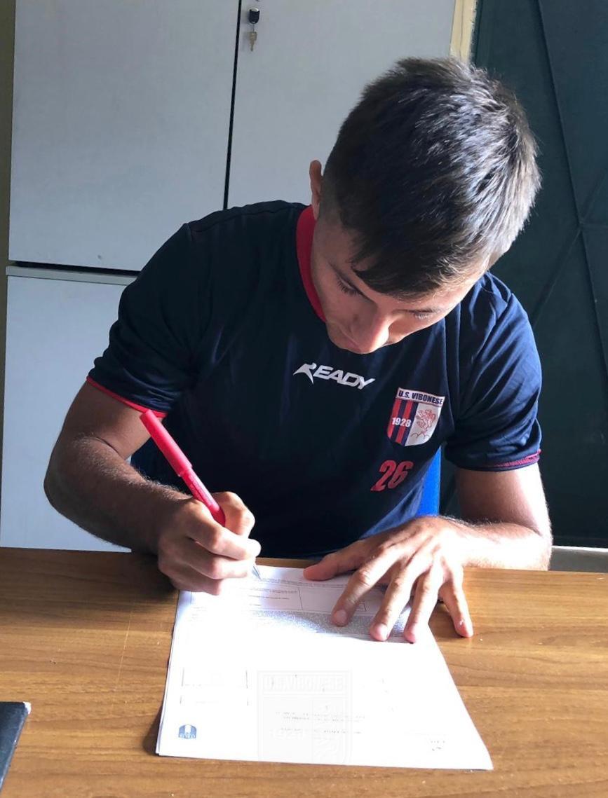 CALCIOMERCATO UFFICIALE | Gianluca Gualtieri è un giocatore rossoblu immagine 13113 US Vibonese Calcio