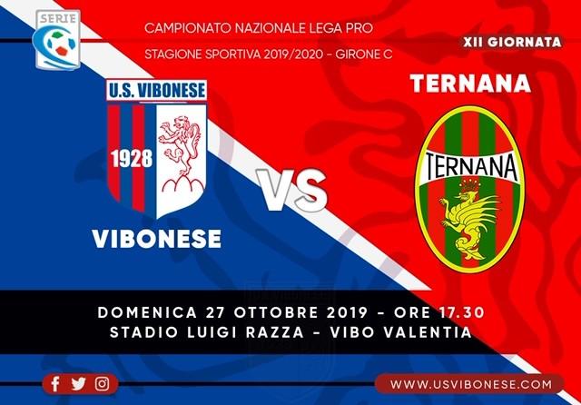 VIBONESE - TERNANA 1-1 | Tabellino e statistiche immagine 13350 US Vibonese Calcio