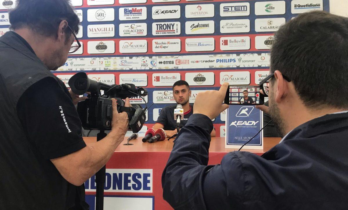 VIBONESE CHANNEL   Verso la sfida contro la Virtus Francavilla: parla Giorgio Tumbarello immagine 13268 US Vibonese Calcio