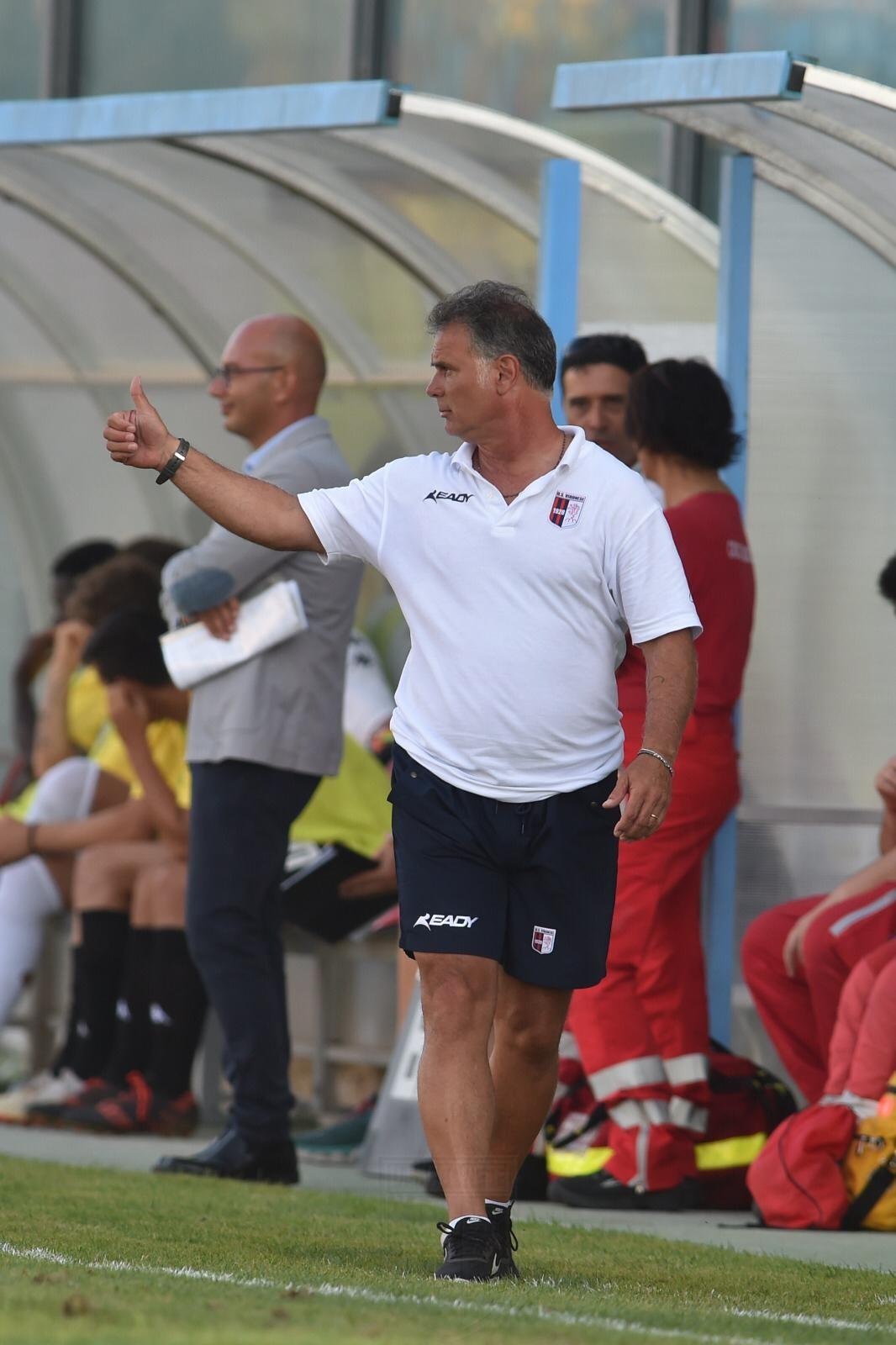 Verso Vibonese - Catania | Le sensazioni di mister Modica immagine 13307 US Vibonese Calcio