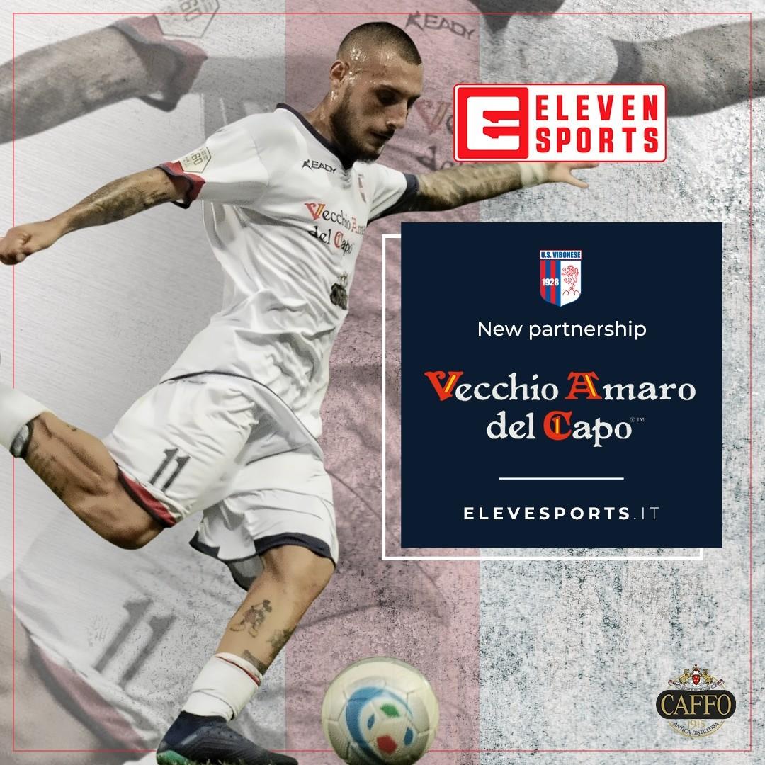 La U.S. Vibonese Calcio e Eleven Sports: insieme per dedicare la passione del calcio a tutti i tifosi immagine 13302 US Vibonese Calcio