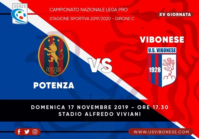 POTENZA - VIBONESE 1-0 | Tabellino e statistiche immagine 13851 US Vibonese Calcio