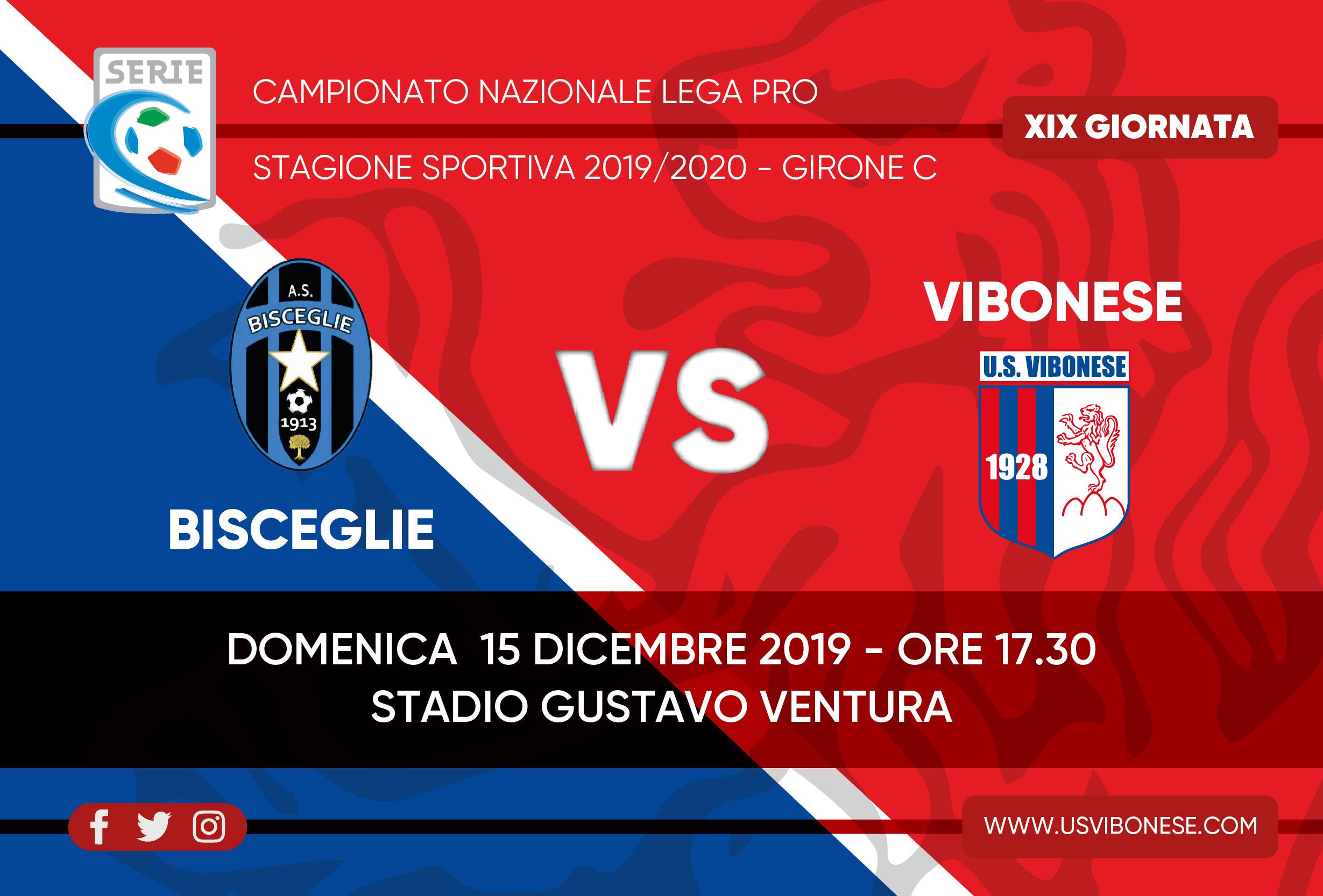 BISCEGLIE - VIBONESE 1-1 | Tabellino e statistiche immagine 13951 US Vibonese Calcio