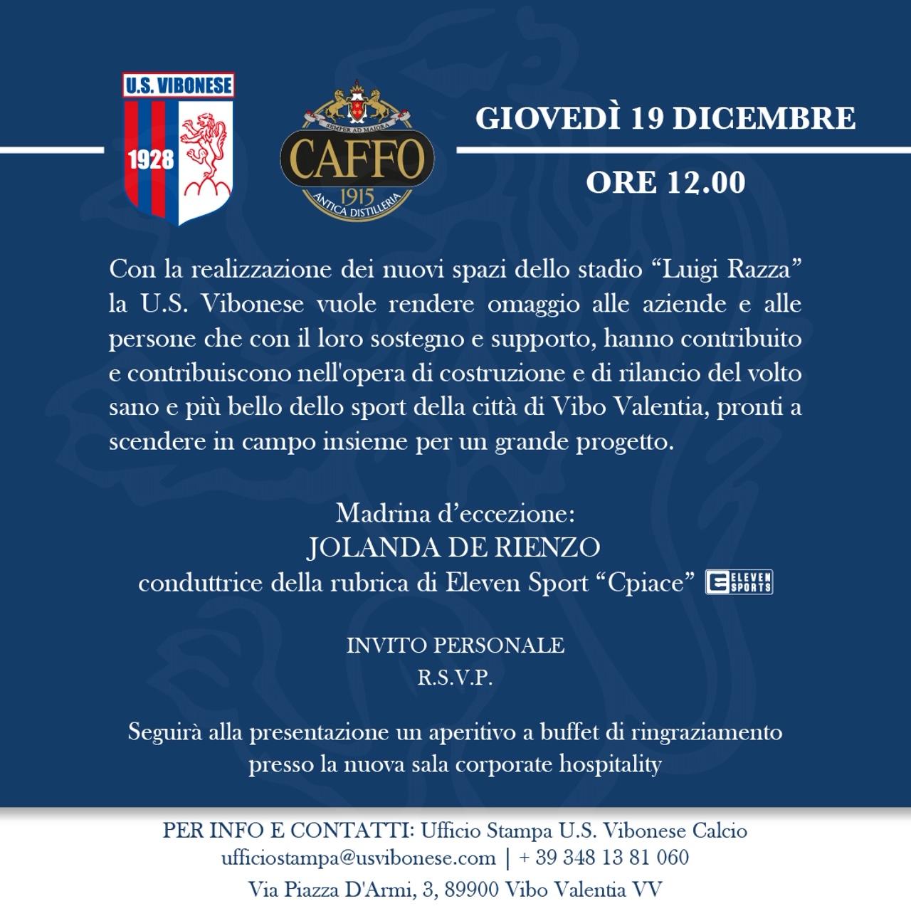 Benvenuti nel nuovo stadio Luigi Razza immagine 13927 US Vibonese Calcio