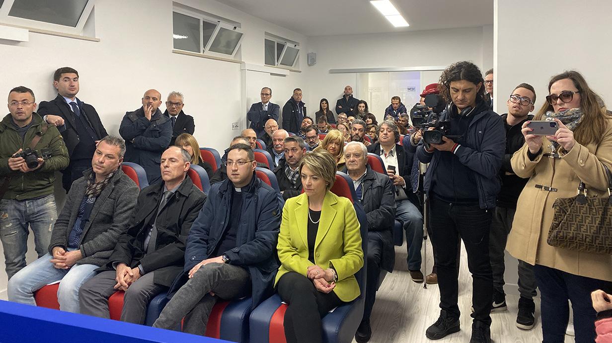 La nuova casa della Vibonese, la tua casa: inaugurati i nuovi spazi immagine 13988 US Vibonese Calcio