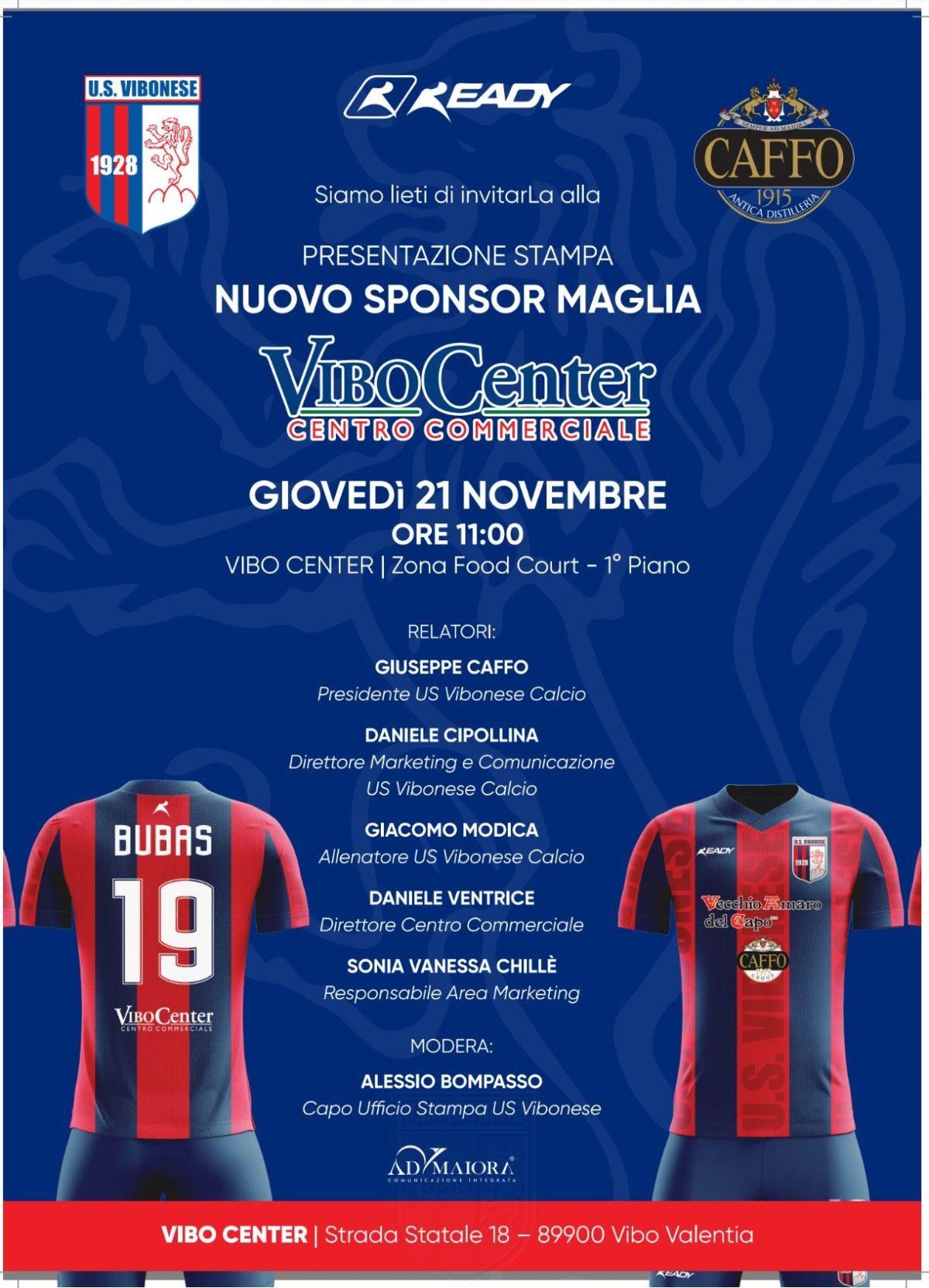 """Nuovo sponsor e nuovo store, il """"Vibo Center"""" sposa il progetto rossoblu immagine 13855 US Vibonese Calcio"""
