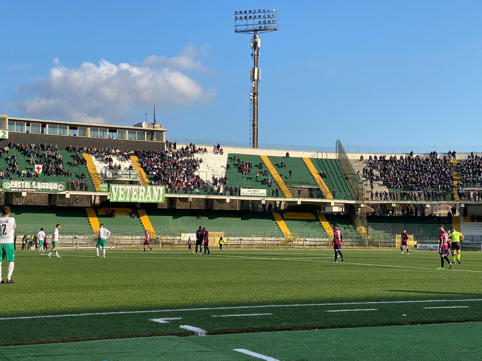 AVELLINO - VIBONESE 1-1 | Un punto a testa al Partenio immagine 14107 US Vibonese Calcio
