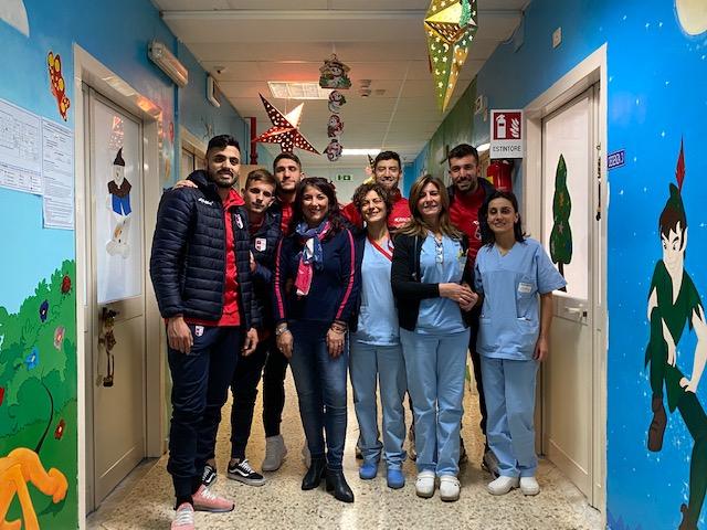 EPIFANIA IN CORSIA | Giocattoli per i bambini ricoverati in ospedale immagine 14088 US Vibonese Calcio