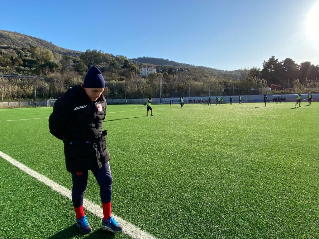 VERSO CASERTANA - VIBONESE | Parola a mister Michele Facciolo immagine 14454 US Vibonese Calcio