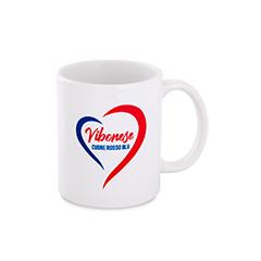 Tazza cuore rosso blu immagine 14529 US Vibonese Calcio