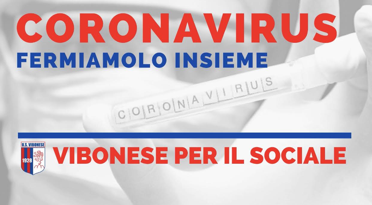 LA VIBONESE #RESTACASA | Il video contro il Coronavirus immagine 14601 US Vibonese Calcio