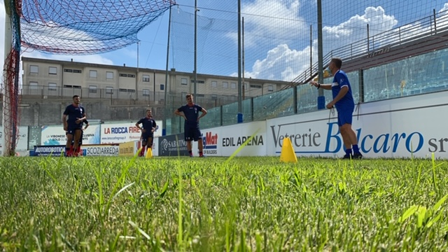 Visite mediche, tamponi e primo allenamento: la nuova stagione è iniziata immagine 14941 US Vibonese Calcio