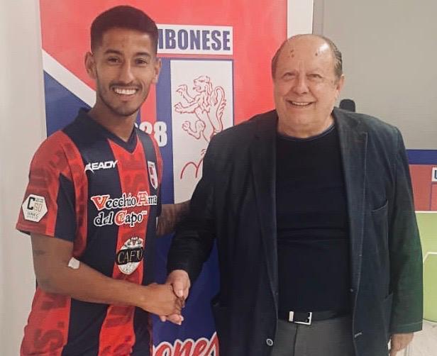 """UFFICIALE   """"Momo"""" Laaribi è un giocatore rossoblu immagine 16019 US Vibonese Calcio"""