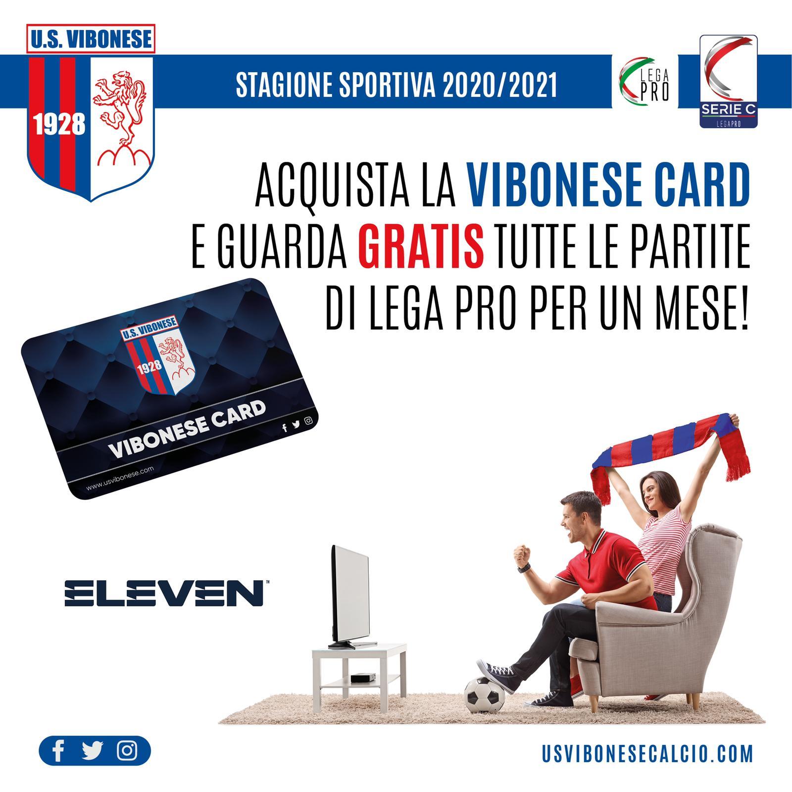 VIBONESE ED ELEVEN SPORT | 1000 scratch gratuiti per chi acquista la Vibonese Card immagine 16151 US Vibonese Calcio