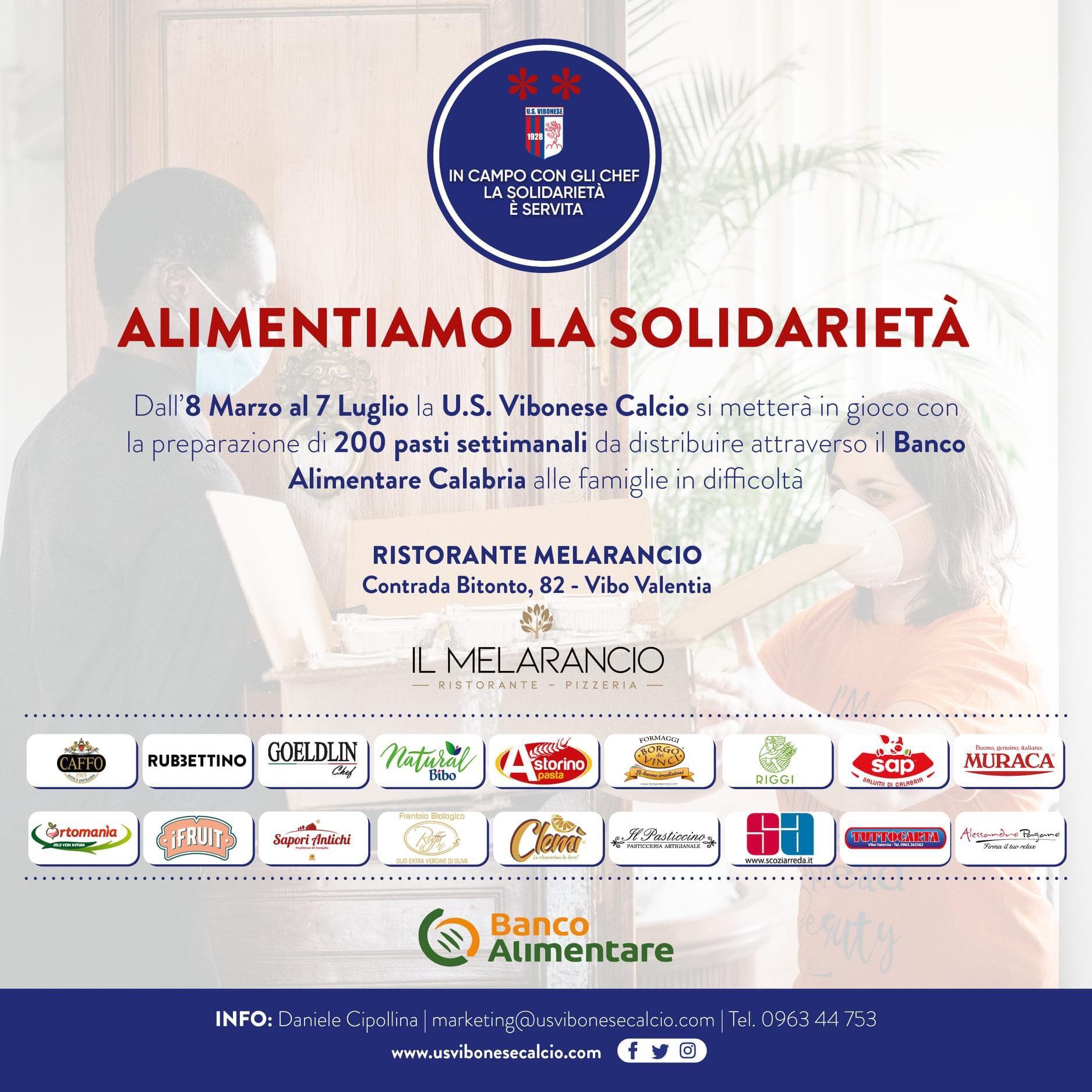 ALIMENTIAMO LA SOLIDARIETÀ | La solidarietà continua immagine 16922 US Vibonese Calcio