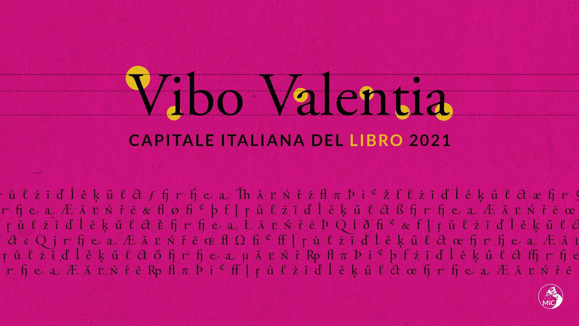 VIBO CAPITALE DEL LIBRO 2021 | Le congratulazioni del club immagine 17049 US Vibonese Calcio