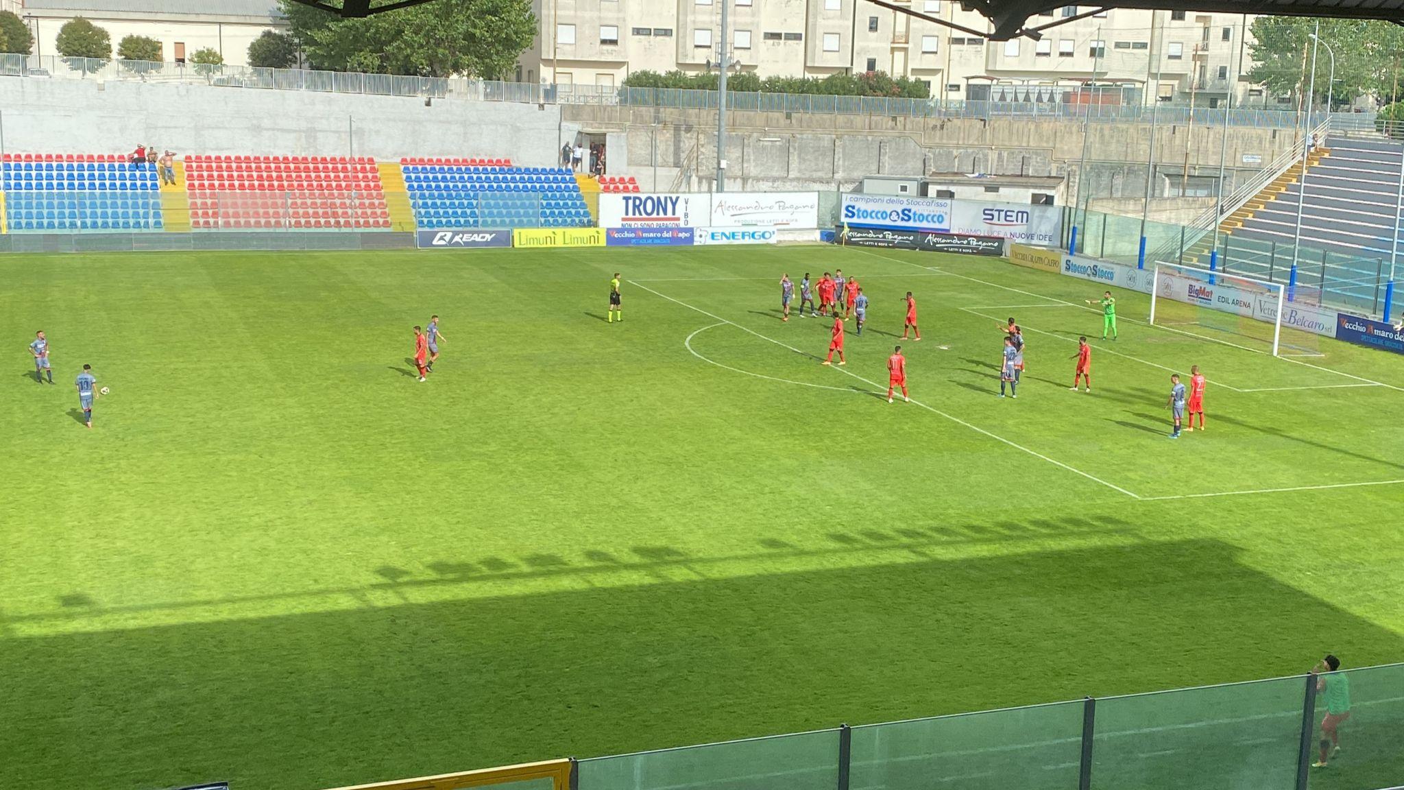 VIBONESE - TURRIS 1-4 | Il tabellino del match immagine 18053 US Vibonese Calcio